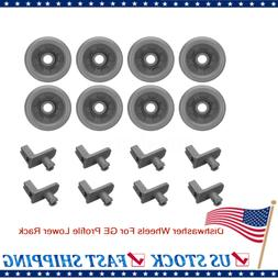 16pcs Dishwasher Wheels Roller Kit WD12X10136 WD12X10277 For
