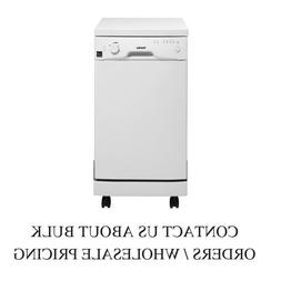 "Danby 18"" White Full Console Portable Dishwasher DDW1801MWP"