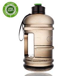 2 Litre Water Bottle Big US Eastman Tritan BPA Free Leak Pro