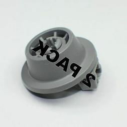 2 Pk, Dishwasher Rack Roller Wheel for Bosch, AP4339780, 006