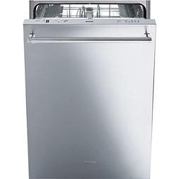 Smeg 24'' Fully Integrated Dishwasher with Stainless Steel D