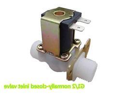 2PCS Flow Meter Sensor electromagnetic <font><b>Valve</b></f
