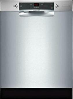 """Bosch 300 Series 24"""" 46 dBA 14 Place Setting Full Console Di"""