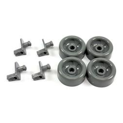4X Dishwasher Lower Rack Roller Wheel Axle For GE AH958945 E