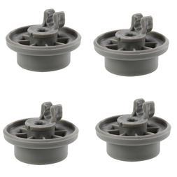 4X Dishwasher Lower Rack Wheel For Bosch AP2802428 420198 42