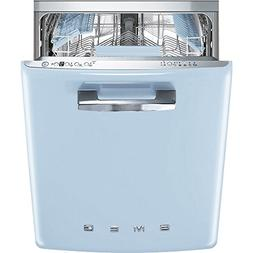 "Smeg 24"" 50s Retro Style Fully Integrated Dishwasher with 13"