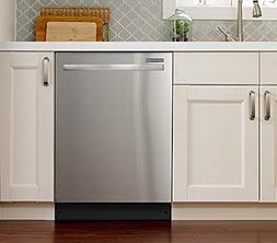 """24"""" 55 dBA Built-In Dishwasher with SoilSense Cycle Finish:"""