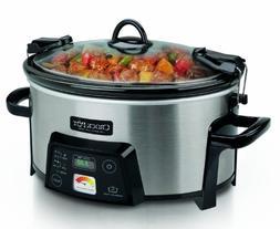Crock-Pot 6-Quart Cook & Carry Digital Slow Cooker with Heat