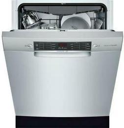 """Bosch 800 Series 24"""" 44 dBA 15 Setting Full Console Dishwash"""
