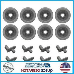 8pcs Dish Washer Wheels Roller WD12X10136 WD12X10277 For GE