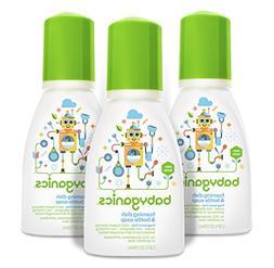 Babyganics Foaming Dish and Bottle Soap, Fragrance Free, On-