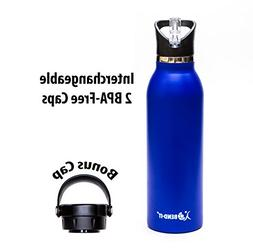Bend-It, The Coldest Water Bottle, Stainless Steel Sports Bi