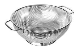Cucinare Stainless Steel Colander 5-Quart Strainer for Cooki