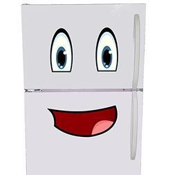 Mr. Fridge Smiley Face Emoji Refrigerator Playroom Magnet Se