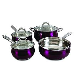 Oster 108128.07 Verdone 7 Piece Cookware Set with Metallic P