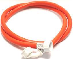 Plumb-Pak Washing Machine/Dishwasher Inlet Hose Red with 90