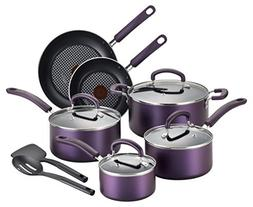T-fal B131SC Color Luxe Hard Titanium Nonstick Thermo-Spot D