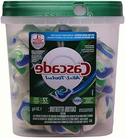 Cascade Actionpacs All in 1 Dishwasher Detergent with Dawn,