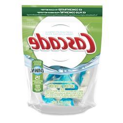Cascade ActionPacs Dishwasher Detergent, Fresh Scent, 15-Cou