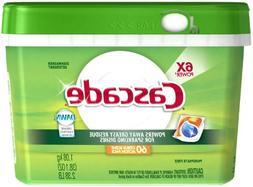 Cascade ActionPacs Dishwasher Dish Detergent, Citrus, 38.1 o
