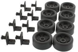 ERP Aftermarket Dishwasher Lower Rack Roller Kit for GE WD35