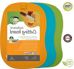 Antibacterial Cutting Board Set - 100% 1 Minute Microwave An