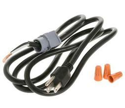* GE Appliances Universal Dishwasher Power Cord 3-Wire WX09X