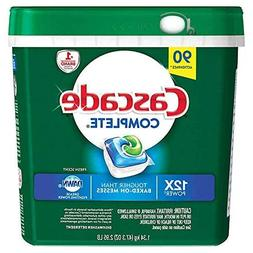 Cascade C90 ActionPacs Dishwasher Detergent , White