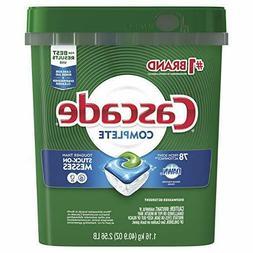 Cascade Complete ActionPacs Dishwasher Detergent, Fresh Scen
