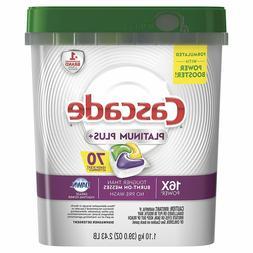 Cascade Platinum Plus Dishwasher Detergent Actionpacs, Lemon
