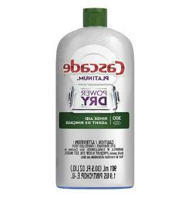 Cascade Rinse Aid Platinum Dishwasher Rinse Agent Regular Sc