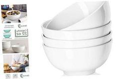 Ceramic Soup Bowls, Cereal Bowl, 22 Ounce Bowls Set, Chip Re