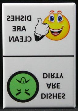 CLEAN / DIRTY Smiley Face & Mr. Yuck Face - Dishwasher Magne