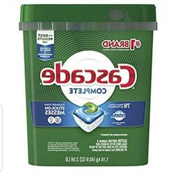 complete actionpacs dishwasher detergent pods fresh scent