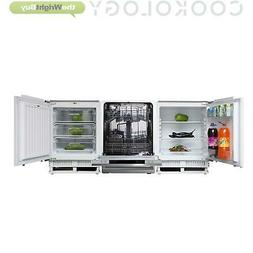 Cookology Fully Integrated 60cm Under Counter Fridge, Freeze