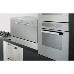 Countertop Dishwasher Silver Portable Compact Energy Star Ap