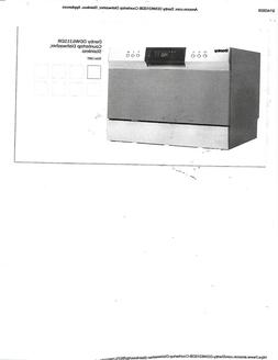 Danby  Countertop Dishwasher, Stainless  microwave  1  0 ove