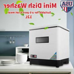 Countertop Dishwasher White Portable Compact Energy Star Apa