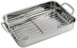 Conair Cuisinart 7117-14RR Lasagna Pan with Stainless Roasti