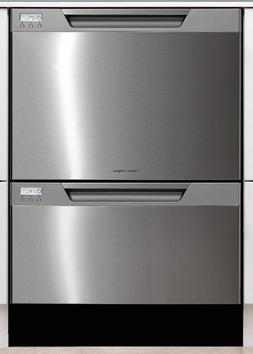 Fisher Paykel DD24DCTX6v2 Tall Double Dishwasher Drawer - St