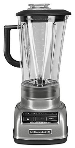 KitchenAid 60-oz. Diamond Vortex Blender, Contour Silver