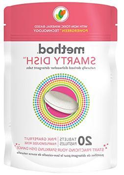 Method Dish Detergent - Pink Grapefruit - 20 ct