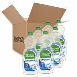 Seventh Generation Dish Liquid Soap, Free & Clear, 25 oz, Pa