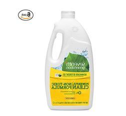 Seventh Generation Dishwasher Detergent Gel, Lemon Scent, 42