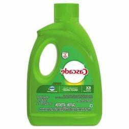 Cascade Dishwasher Detergent Gel with Dawn, Lemon, 4 Bottles