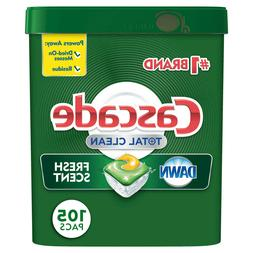 Dishwasher Detergent Cascade Platinum ActionPacs Dishwasher