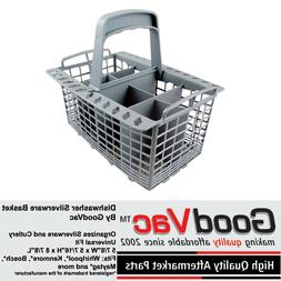 Dishwasher Silverware Basket Universal Fit by GoodVac to Fit