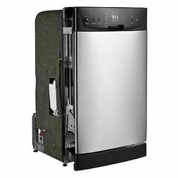 SPT Energy Star 18-inch Built-In Dishwasher - Stainless Stee