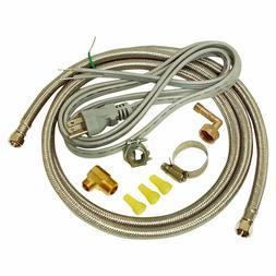 Ez-Flo 48337 6ft Universal Dishwasher Installation Kit