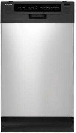 Frigidaire FFBD1821MS 18 Inch Full Console Dishwasher w/Ener